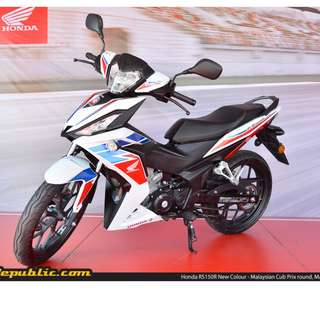 Honda New Rs150r  D/P $500 or $0 With out insurance (Terms and conditions apply. Pls call 67468582 De Xing Motor Pte Ltd Blk 3006 Ubi Road 1 #01-356 S 408700.