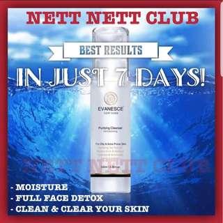 *NEW!* - Evanesce New York - Purifying Cleanser | Toner | Face Toner | Facial | Detox | Moisturiser