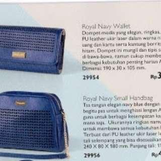 Dompet tas biru