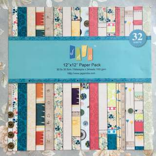 Scrapbook supplies - kertas motif
