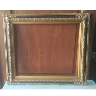 Picture Frame Wood (Gold) (L.78 X H.68 cm) * K98 B1