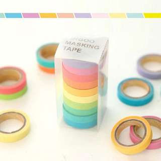 RAINBOW Washi Tapes