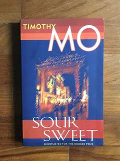 Timothy Mo - Sour Sweet (Paddleless Press, 2003)