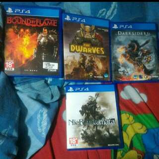 Ps4 Games Nier Automata 800nt The Rest Are 500nt Each