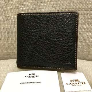Coach Men's Wallet New Authentic BNWT