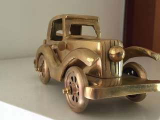 Brass made Rolls Royce display item