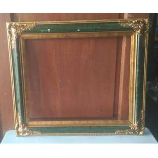 Picture Frame Wood (Green) (L.78 X H.68 cm) * K98 B2