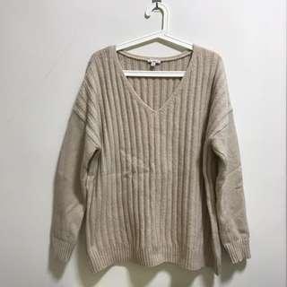 【GAP】女裝 V領毛衣