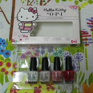 Hello Kitty by OPI Little Blossoms Nail Lacquer 4枝套裝
