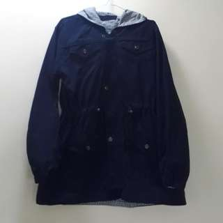 Parka blue dark