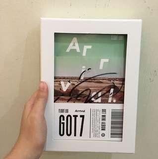 GOT7 Arrival album youngjae signed