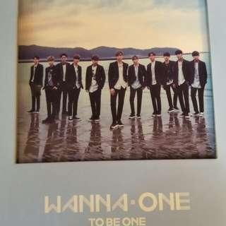 #9成新)Wanna one 專輯藍版(TO BE ONE)