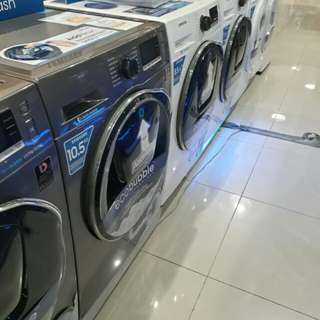 Brandnew Samsung Top Load and Front Load Inverter Fully Auto Washer