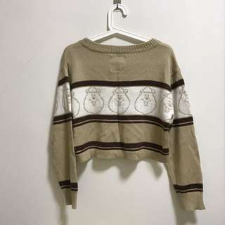 【WC】WC熊短版毛衣 日本購入 正版