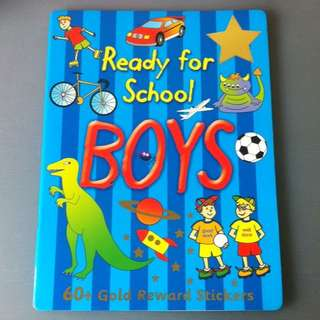 BN Ready For School Boys Activity Book