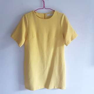 LB Yellow Shift Dress