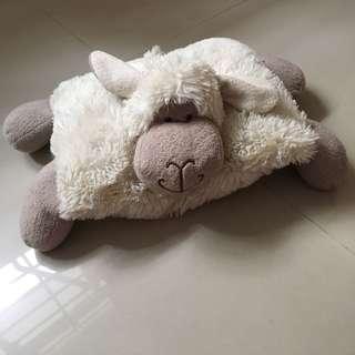 Lamb pillow