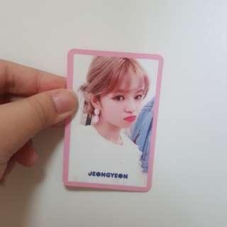 [WTS] Jeongyeon pink signal photocard