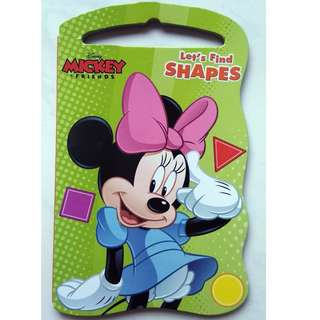 Mickey & Friends - Let's Find Shapes - Board Book