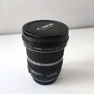 Canon EF-S 10-22mm f/3.5-4.5 USM Lens for DSLR Camera