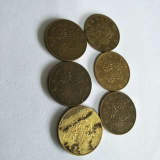 Old Coins 6pc sale 5