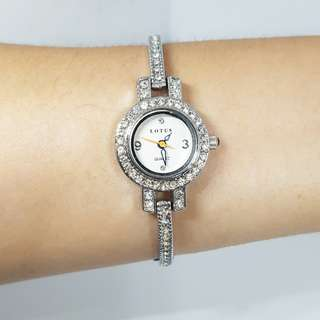 Lotus stainless steel watch