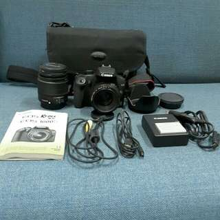 Canon Rebel XS EOS 1000D (with 2 lenses)
