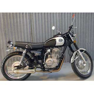 Elstar WarBird Motorcycle 400cc  LAMS Approved (One Only) Special.