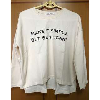 BN Korean Stylish Long sleeve in Beige (Imported, Not Avail In SG!)