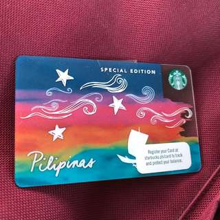 Starbucks Kape Vinta Card - Limited Edition