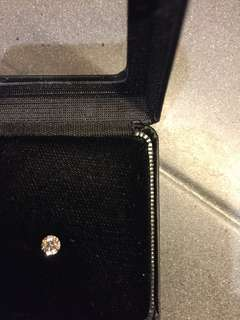 GIA diamond D color 0.35carat excellent cut