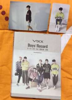 WTS VIXX BOY RECORD ALBUM