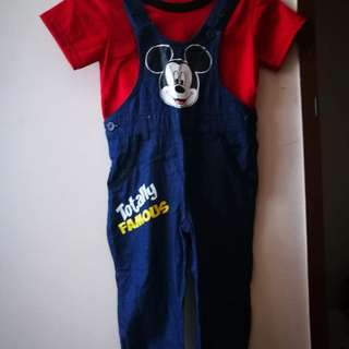 Mickey Mouse Jumper with Shirt