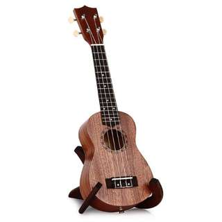 "[FREE BAG] 21"" Soprano Ukulele in Sapele Wood"