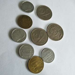 Old Coins 9pc sale $