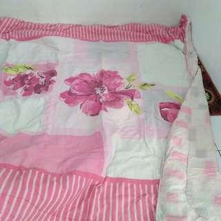 Set bedcover sprei rumbai