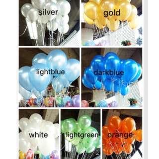 Metallic Balloons 1pack 50 pcs