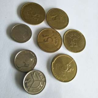 Old Coins 8pc sale $5
