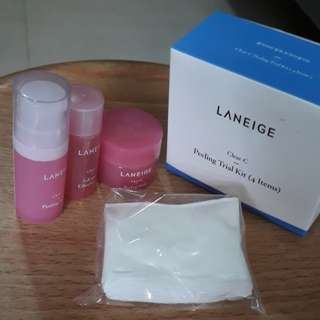 LANEIGE PEELING TRIAL KIT (4 ITEMS)