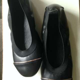 Black Ballet Shoes size 9