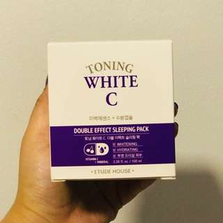 Etude House Toning White C Sleeping Pack