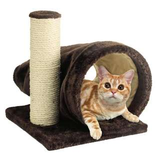 Nyanta Club Brisky Tunnel Cat Scratcher