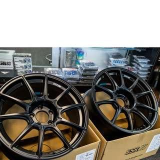 """18"""" Rim Tanabe SSR GT X01 Wheel (Flat Black)"""