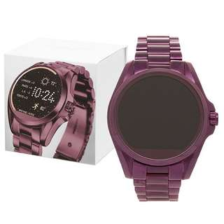 Michael Kors smartwatch 44.5 mm plum tone