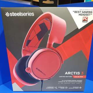Steelseries ARCTIS 3 Solar Red Limited Edition (FOC PC Game)