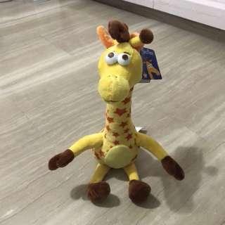 Geoffrey boy and toy (Toys R us)