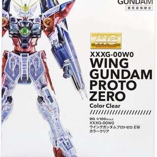 Art of Gundam Wing Proto Zero