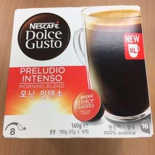 《雀巢咖啡》美式濃烈晨光咖啡膠囊(特大杯)16顆