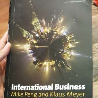International Business by Mike Peng & Klaus Meyer