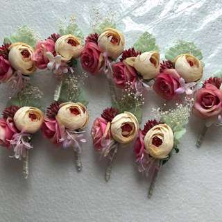 Wedding - Artificial Floral Brooch